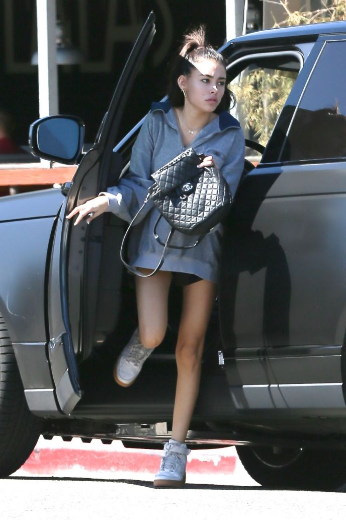 Madison Beer & Range Rover on Ridin