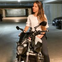 Photoshoot of the Week: August 12th-18th 2019 - BikeGirlParis & Yamaha MT-07