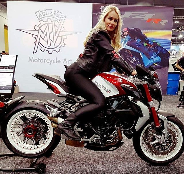 MV Agusta Dragster on Ridin\'GirlsBlog