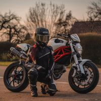 Photoshoot of the Week: April 27th-May 3rd 2020 - Ducati Monster 796 & Mrs Black Soul