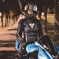 Photoshoot of the Week: November 9th-15th 2020 - Olivia & Triumph Daytona 675
