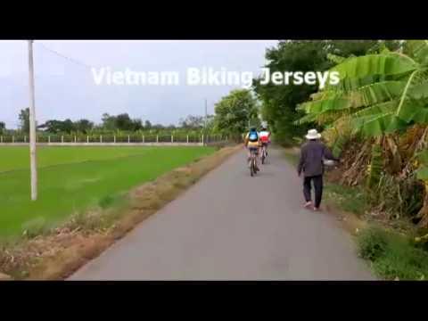 Cycling Jerseys of Vietnam Backroads