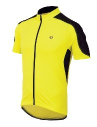 Pearl Izumi Men's Attack Jersey, Screaming Yellow/Black, Large