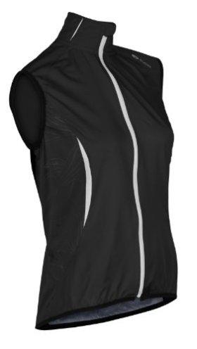 Sugoi Women's Shift Vest (Black/White, Medium)