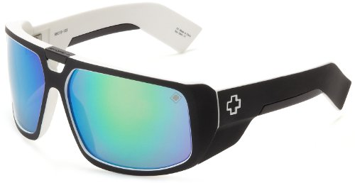 Spy Optic Touring Wrap Sunglasses,White Wall,64 mm