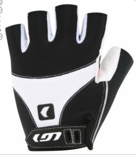 Louis Garneau 12c Air Gel Gloves White, L – Men's