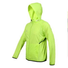 WOLFBIKE Lady Women Cycling Waterproof Jacket Bike Bicycle Rain Coat Wind Coat Windproof UV Protection Jersey Breathable Sports Coat. Color: Green, Size: S