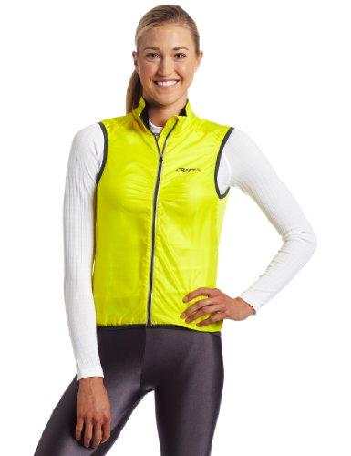 Craft Women's Performance Bike Light Vest (Yellow, Medium)
