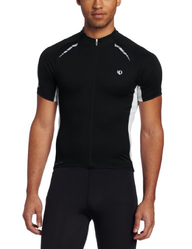 Pearl Izumi Men's Elite Pursuit Jersey, Black, Large