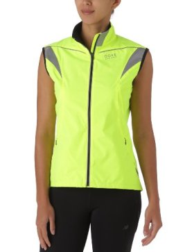 Gore Running Wear Women's Visibility Active Shell Lady Vest, Neon Yellow, Medium