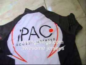 ipac bike jersey, cool bike jerseys, semicustoms cycling shirts