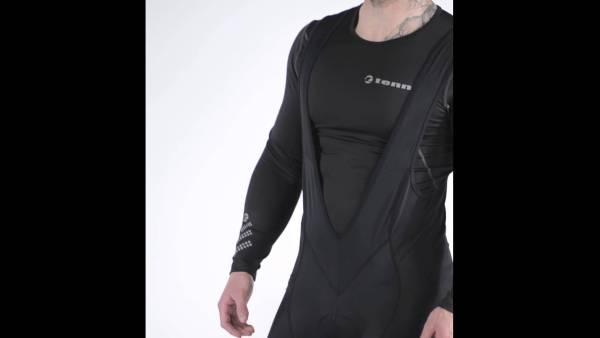 Mens Bib Front Cycling Shorts/Compression Base Layer
