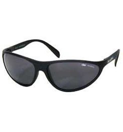 Bolle 401 Grey Polarized Wrap Sunglasses