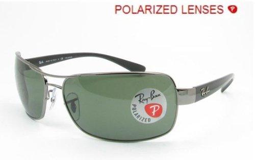 Ray-Ban RB 3379 Sunglasses Styles – Gunmetal Frame / Crystal Green Polarized RB3379-004-58-64