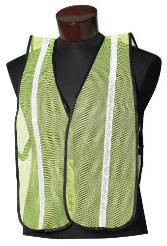 Jackson Safety Fabric Econo Style ESK Safety Vest with 3/4″ White Prismatic