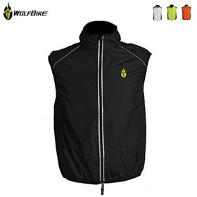 WOLFBIKE Men cycling vest Black Color More Size Choose(S,M,L,XL,XXL,XXXL)