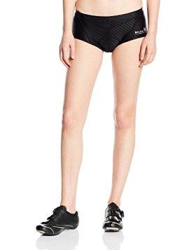 Baleaf Women's 3D Padded Coolmax Bicycle Cycling Underwear Shorts, Black, XXL