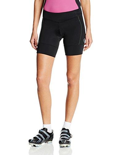 Pearl Izumi – Ride Women's Ultra Star Shorts, Black/Gumdrop, Medium