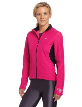 Pearl Izumi Women's Select Thermal Barrier Jacket, Small, Berry