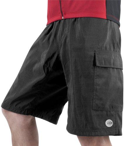 Men's ATD Cargo Cycling Short – Baggy Padded Mountain Bike Shorts USA made