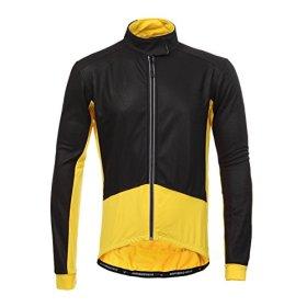 Long Sleeve Thermal Barrier Cycling Biking Windproof Firewall Winter Jacket (X-Large ,Yellow)