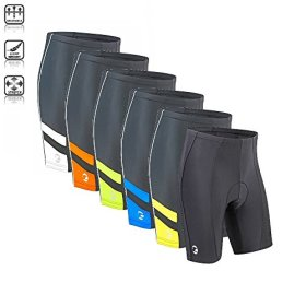 Tenn Mens Coolflo 8 Panel Padded Cycling Shorts
