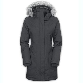 The North Face Women's Arctic Down Parka Graphite Grey Heather Small