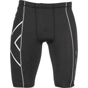 2XU Compression Shorts – Mens Black/Black, S