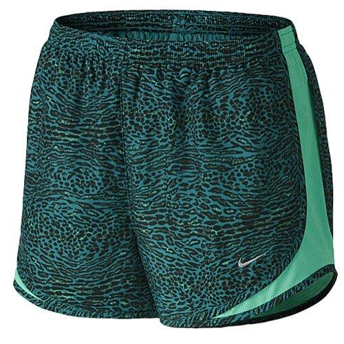 Nike Women's Venom Tempo Running Shorts, Radiant Emerald, XL