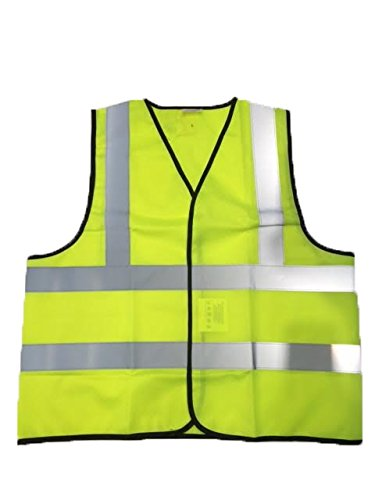 Red Rock Canyon Men's Dept Class 2 Reflective Vest Bright Yellow 2Xl