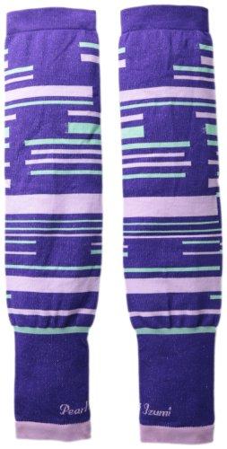 Pearl Izumi Select Thermal Lite Arm Warmer, Purple Stripes, Large