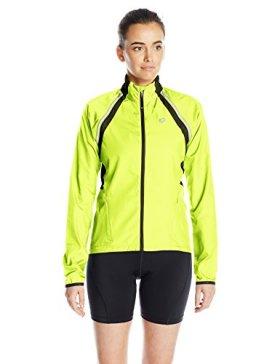Pearl Izumi – Ride Women's Elite Barrier Convert Jacket, X-Small, Screaming Yellow