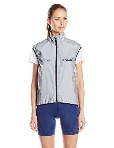 Proviz Reflect360 Womens Gilet Sleeveless Jacket, Fully Reflective, 6