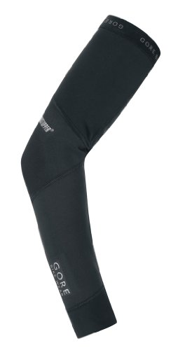GORE BIKE WEAR  WINDSTOPPER Universal SO Arm Warmers, S black