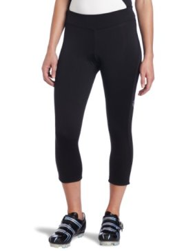 Pearl Izumi Women's Sugar Thermal Cycling 3-Quater Tight, Black, X-Small