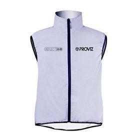 Proviz Reflect360 Mens Gilet Sleeveless Jacket, Fully Reflective, X-Small