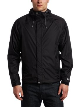 White Sierra Men's Trabagon Jacket (Black, Small)