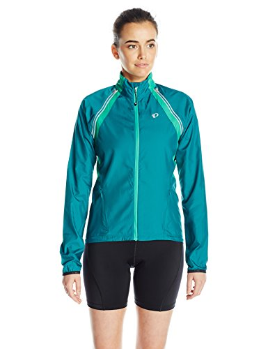 Pearl Izumi – Ride Women's Elite Barrier Convert Jacket, Small, Deep Lake