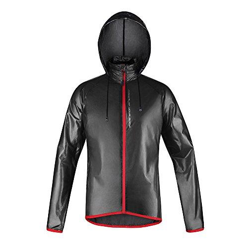 Riposte RCD-RJ-01 Hoodie Cycling Jackets(Black,S)