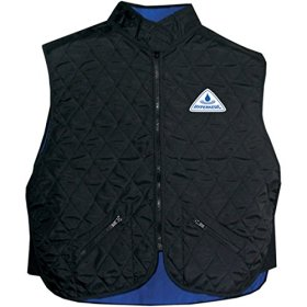Hyperkewl Adult Street Racing Motorcycle Vest – Black / Large