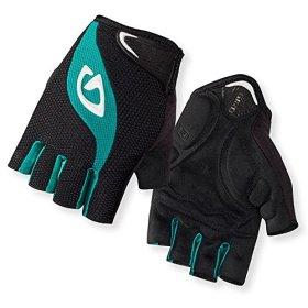 Giro Tessa Women's Gloves Black/Dynasty Green, M
