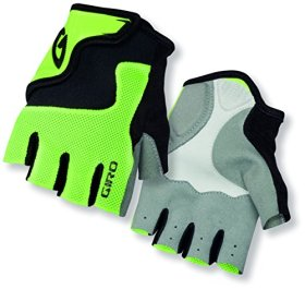 Giro Youth Bravo Junior Gloves, Highlight Yellow/Black, Medium