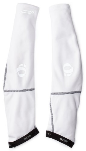 Pearl Izumi Men's Elite Thermal Arm Warmer, White, Small