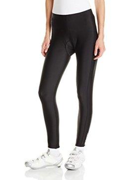 Canari Cyclewear Women's Gel Cycle Tights, Black, Small