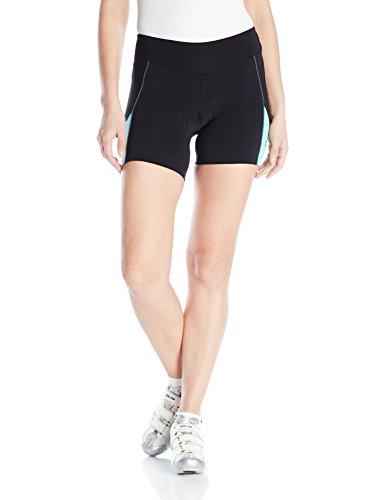 Pearl Izumi – Ride Women's Sugar Shorts, Black/Aqua Mint, Large