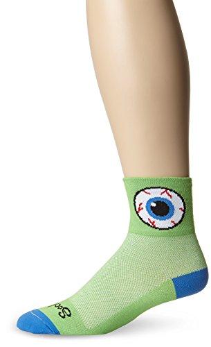 SockGuy Men's Big Brother Sock, Green, Large/X-Large