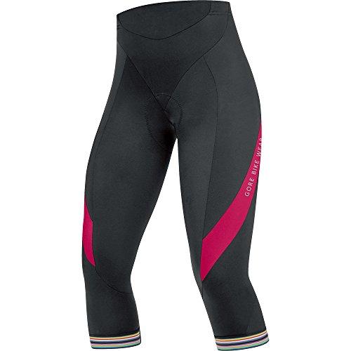 GORE BIKE WEAR Women's POWER LADY 3.0 Tights 3/4+, size S, black/jazzy pink