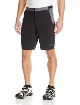 Pearl Izumi – Ride Men's Canyon Shorts, Black/Black, Large
