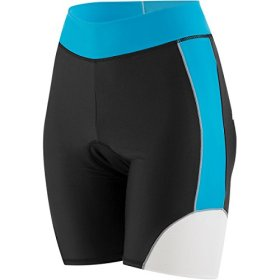 Louis Garneau Womens's Comp Triatholon Shorts Atomic Blue Large