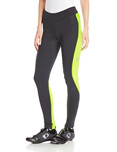 Pearl Izumi – Ride Women's Sugar Thermal Cycling Tights, X-Small, Black/Screaming Yellow